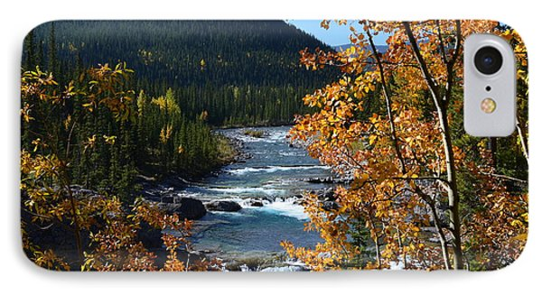 Elbow River View IPhone Case by Cheryl Miller
