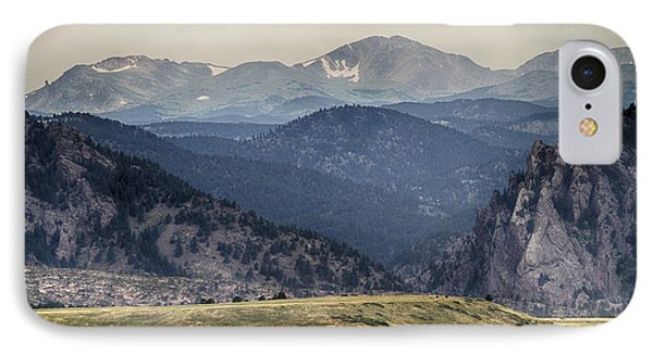 Eldorado Canyon And Continental Divide Above Phone Case by James BO  Insogna