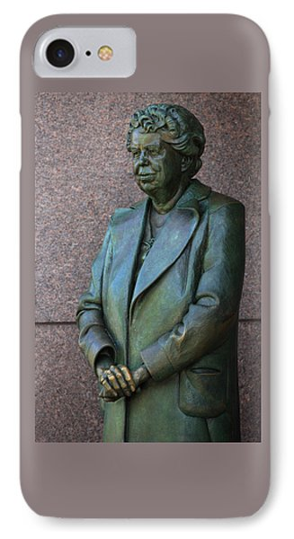Eleanor Roosevelt Memorial Detail IPhone Case