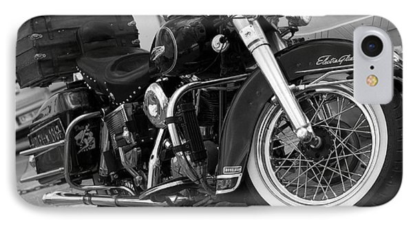 Electra Glide Classic IPhone Case by Graham Hawcroft pixsellpix