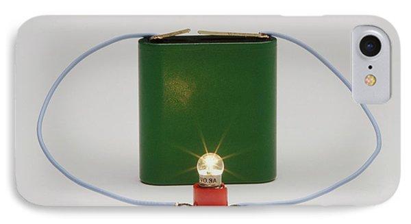 Electric Circuit IPhone Case