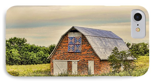 Electric Fan Quilt Barn IPhone Case by Cricket Hackmann