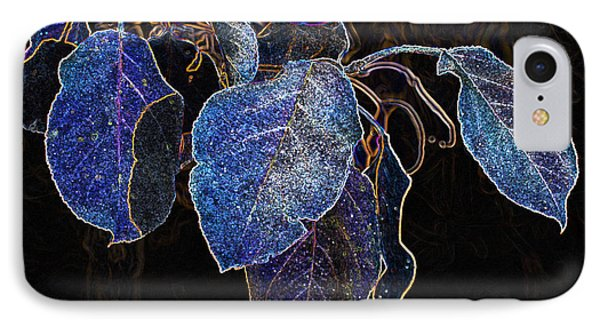 Electric Leaves IPhone Case