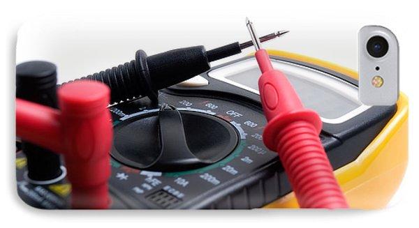 Electric Multimeter Phone Case by Sinisa Botas