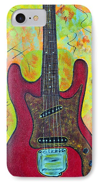 Electric Red IPhone Case by Robin Hillman