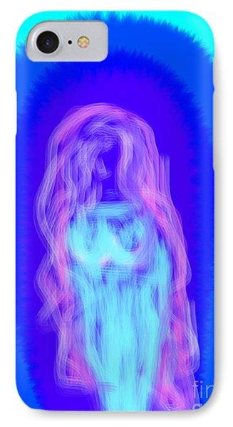 Electric Virgin Phone Case by James Eye