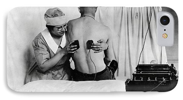 Electrical Treatment Of Shell Shock IPhone Case by Otis Historical Archives, National Museum Of Health And Medicine
