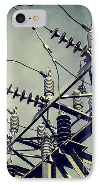 Electricity Phone Case by Edward Fielding