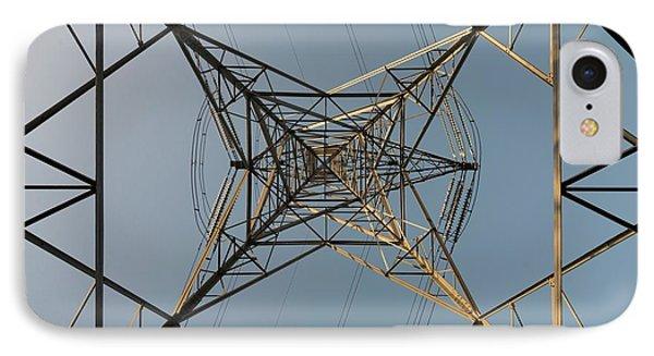 Electricity Pylon IPhone Case