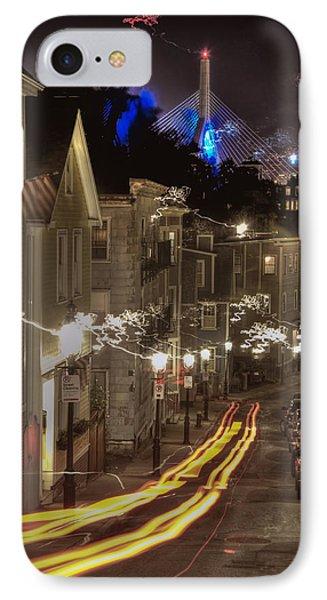 Electrified Boston Phone Case by Joann Vitali