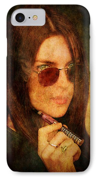 Electronic Smoking Phone Case by Loriental Photography