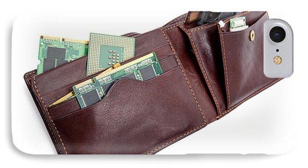 Electronic Wallet Phone Case by Sinisa Botas
