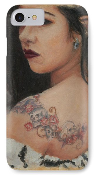 Elegant Ink IPhone Case by Sciandra