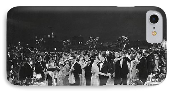 Elegant Outdoor Dance Party IPhone Case by Underwood Archives