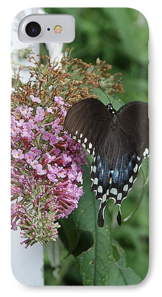 IPhone Case featuring the photograph Elegant Swallowtail Butterfly by Margie Avellino