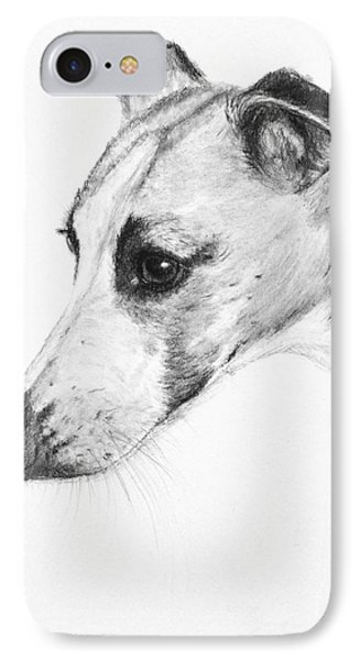 Elegant Whippet IPhone Case