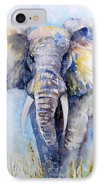 Elephant Blues IPhone Case