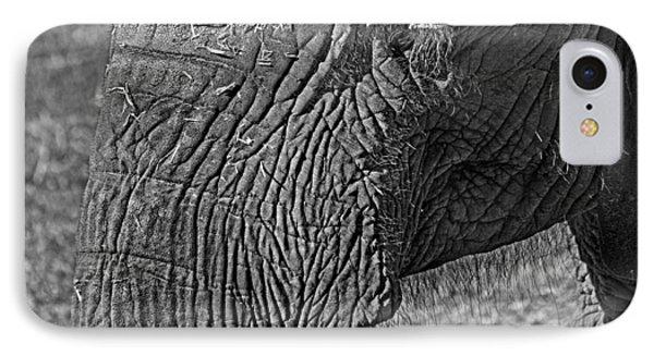 Elephant.. Dont Cry IPhone 7 Case by Miroslava Jurcik