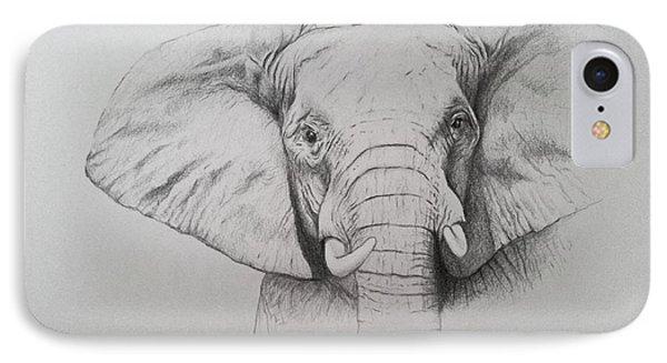 Elephant IPhone Case by Ele Grafton