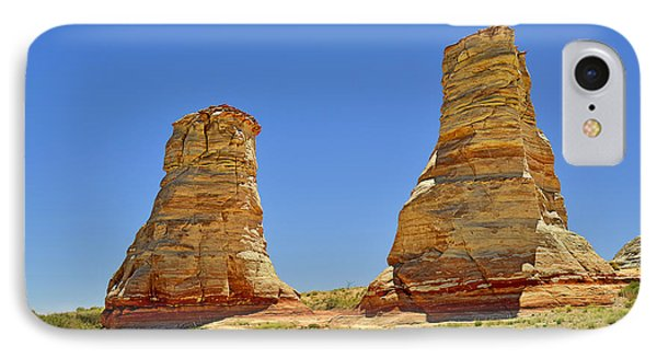 Elephant Feet Rocks Arizona IPhone Case by Christine Till