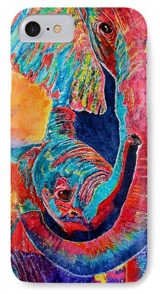 Elephant Hug IPhone Case