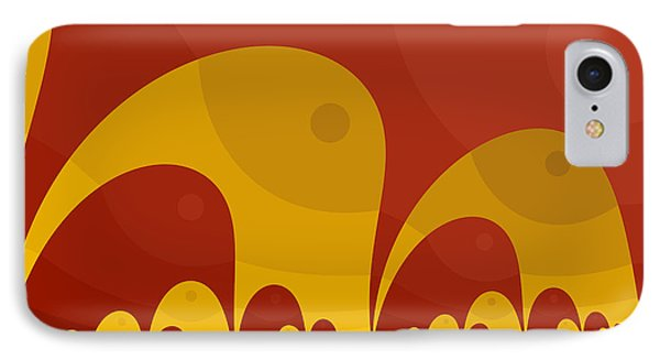 IPhone Case featuring the digital art Elephant Lake by Mark Greenberg
