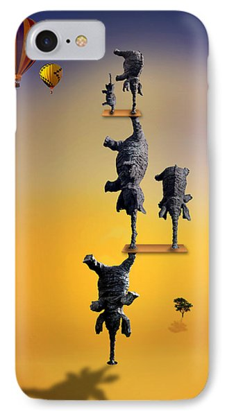 Elephant Life 2 IPhone Case by Mark Ashkenazi