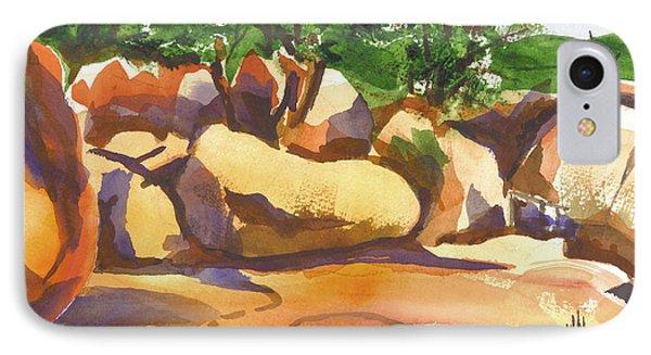 Elephant Rocks Revisited I Phone Case by Kip DeVore