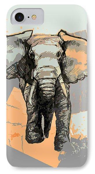 Elephants Laugh IPhone Case