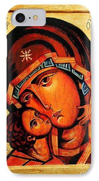 Eleusa Icon Phone Case by Ryszard Sleczka