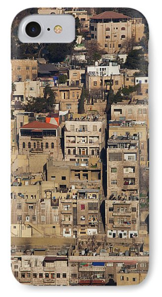 Elevated City View From Jebel IPhone Case