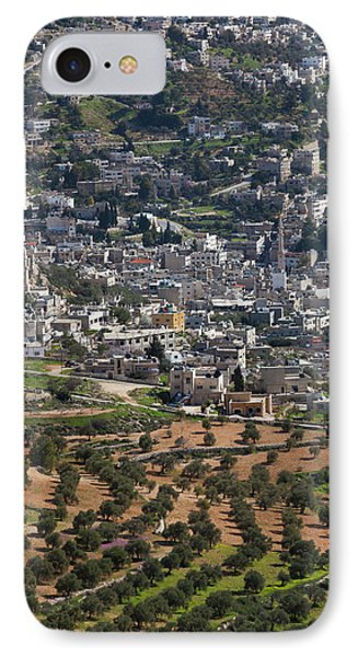Elevated Town View From Ajloun Castle IPhone Case