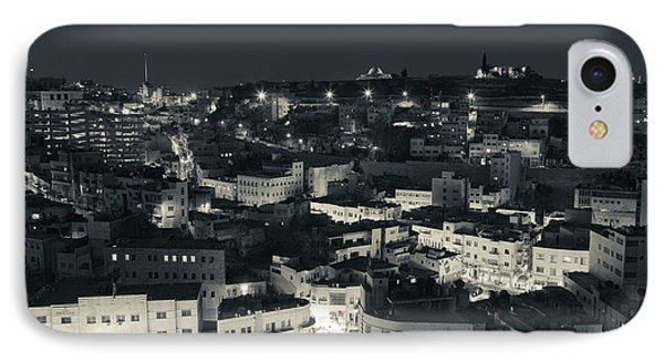 Elevated View Of Central Amman IPhone Case