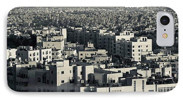 Elevated View Of City And Zahran Street IPhone Case