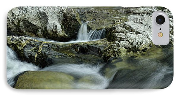 Elevated View Of River Passing IPhone Case by Panoramic Images