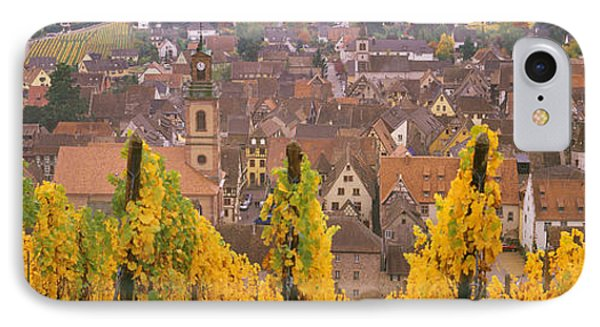 Elevated View Of The Riquewihr IPhone Case by Panoramic Images