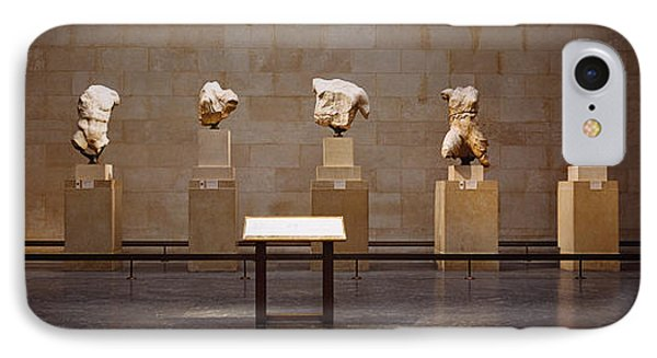 Elgin Marbles Display In A Museum IPhone Case
