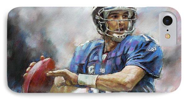 Eli Manning Nfl Ny Giants  IPhone Case