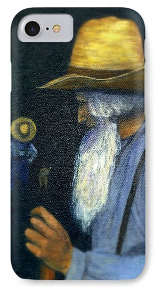 IPhone Case featuring the painting Eli Remembers by Gail Kirtz
