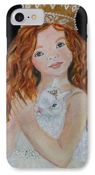 Eliana Little Angel Of Answered Prayers Phone Case by The Art With A Heart By Charlotte Phillips