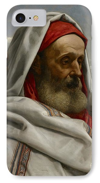 Eliezer Of Damascus Phone Case by William Dyce