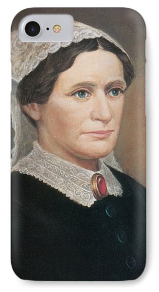 Eliza Johnson, First Lady IPhone Case by Science Source