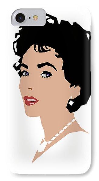 Elizabeth IPhone Case by Douglas Simonson