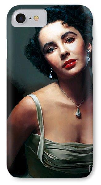 Elizabeth Taylor IPhone Case by Paul Tagliamonte