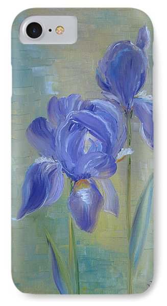 Elizabeth's Irises IPhone Case