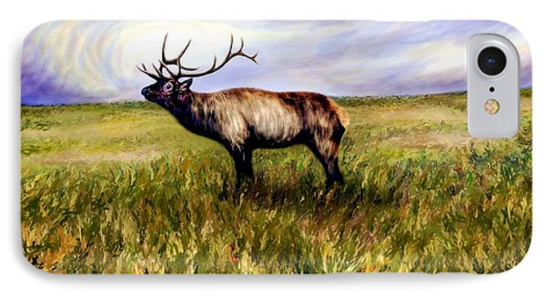 Elk At Dusk IPhone Case by Ric Darrell