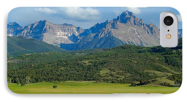Elk Below Mount Sneffels IPhone Case by Dan Miller