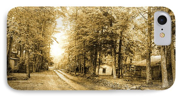Elkmont Ghost Town IPhone Case by Michael Eingle