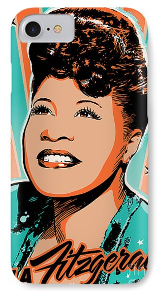 Ella Fitzgerald Pop Art IPhone Case