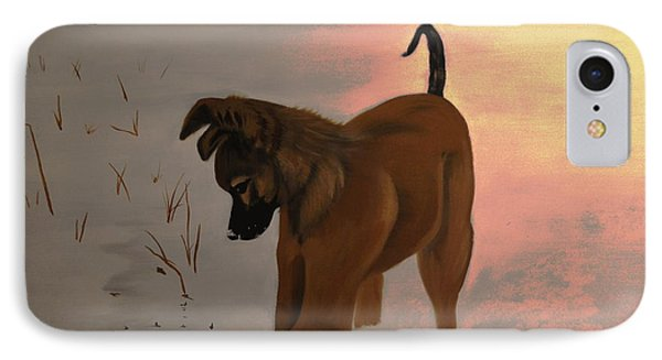 IPhone Case featuring the painting Ellee by Stuart Engel